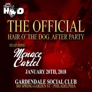 HOD2018 Official After Party is at the New Gardendale Social Club